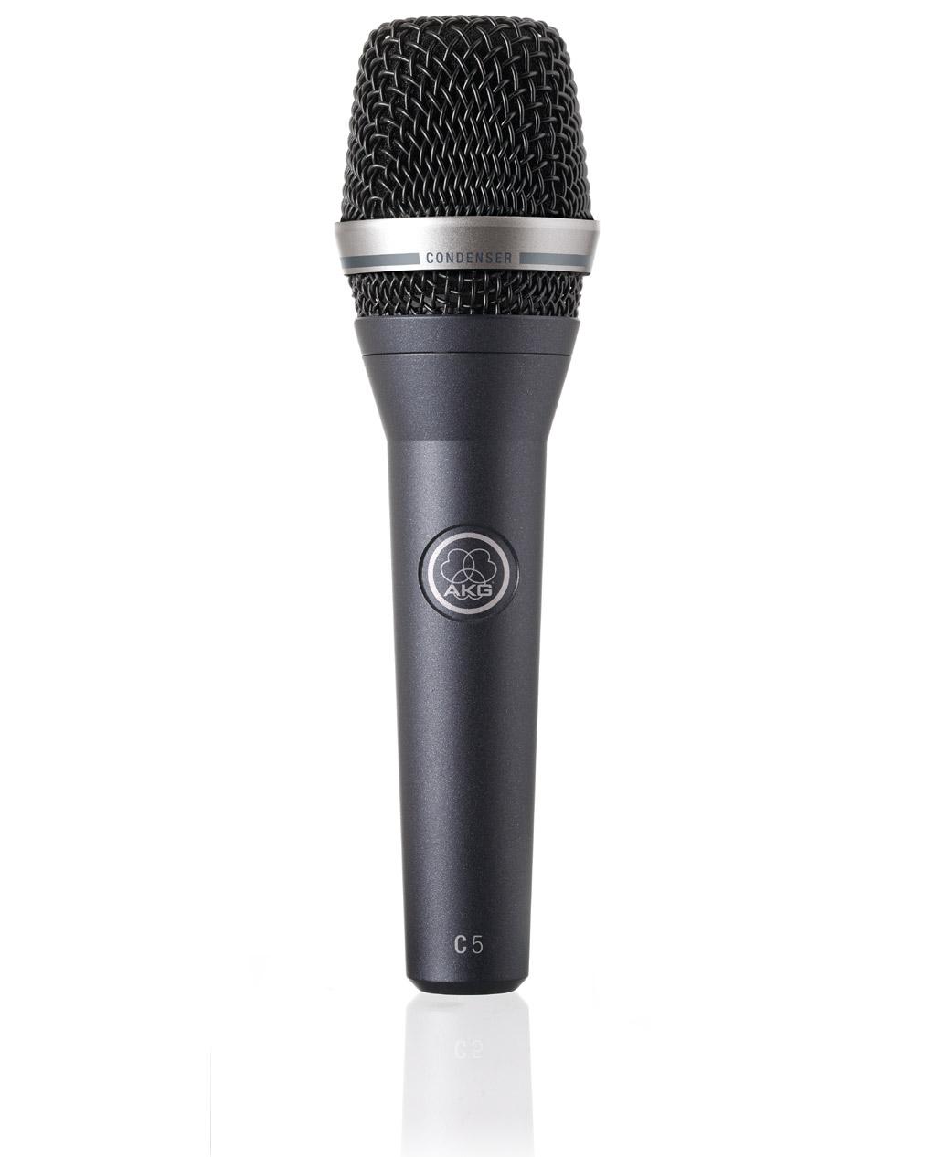 Powieksz do pelnego rozmiaru AKG C 5, C5, C-5, mikrofon ręczny, mikrofon przewodowy, mikrofon pojemnościowy, mikrofon kardioidalny, mikrofon wokalowy, mikrofon estradowy, mikrofon studyjny