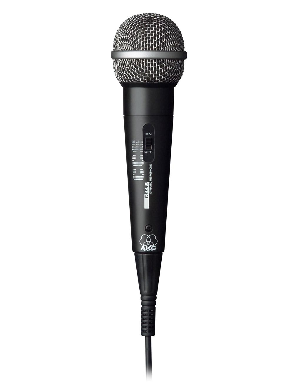Powieksz do pelnego rozmiaru AKG D 44 S, D-44 S, D-44-S, D 44-S, D44 S, D 44S, D44-S, D-44S, mikrofon ręczny, mikrofon przewodowy, mikrofon dynamiczny, mikrofon kardioidalny, mikrofon wokalowy, mikrofon estradowy