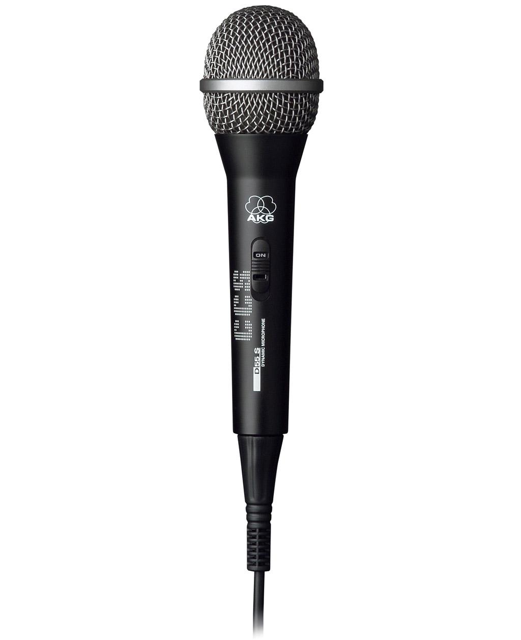 Powieksz do pelnego rozmiaru AKG D 55 S, D-55 S, D-55-S, D 55-S, D55 S, D 55S, D55-S, D-55S, mikrofon ręczny, mikrofon przewodowy, mikrofon dynamiczny, mikrofon kardioidalny, mikrofon wokalowy, mikrofon estradowy