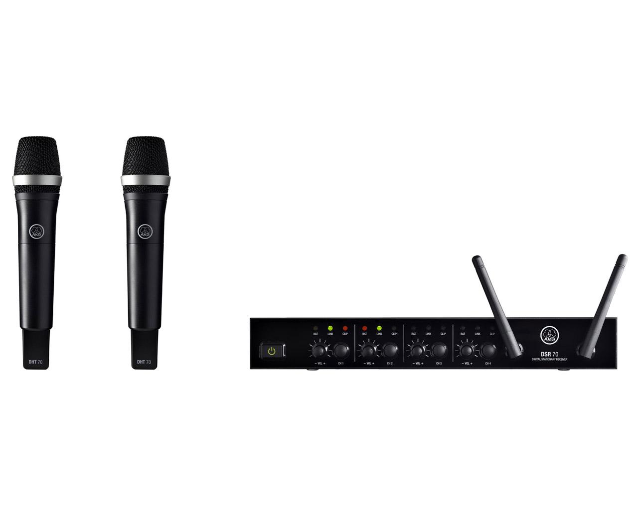 Powieksz do pelnego rozmiaru AKG DMS 70 Q, AKG DMS-70 Q, AKG DMS70 Q, DMS 70Q, DMS-70Q, DMS70Q, DMS 70-Q, DMS-70-Q, DMS70-Q, mikrofon bezprzewodowy, zestaw bezprzewodowy, system mikrofonowy bezprzewodowy,   mikrofon bezprzewodowy cyfrowy, zestaw bezprzewodowy cyfrowy, cyfrowy system mikrofonowy bezprzewodowy,  mikrofon wokalowy, nadajnik ręczny, nadajnik mikrofonowy ręczny, mikrofon ręczny