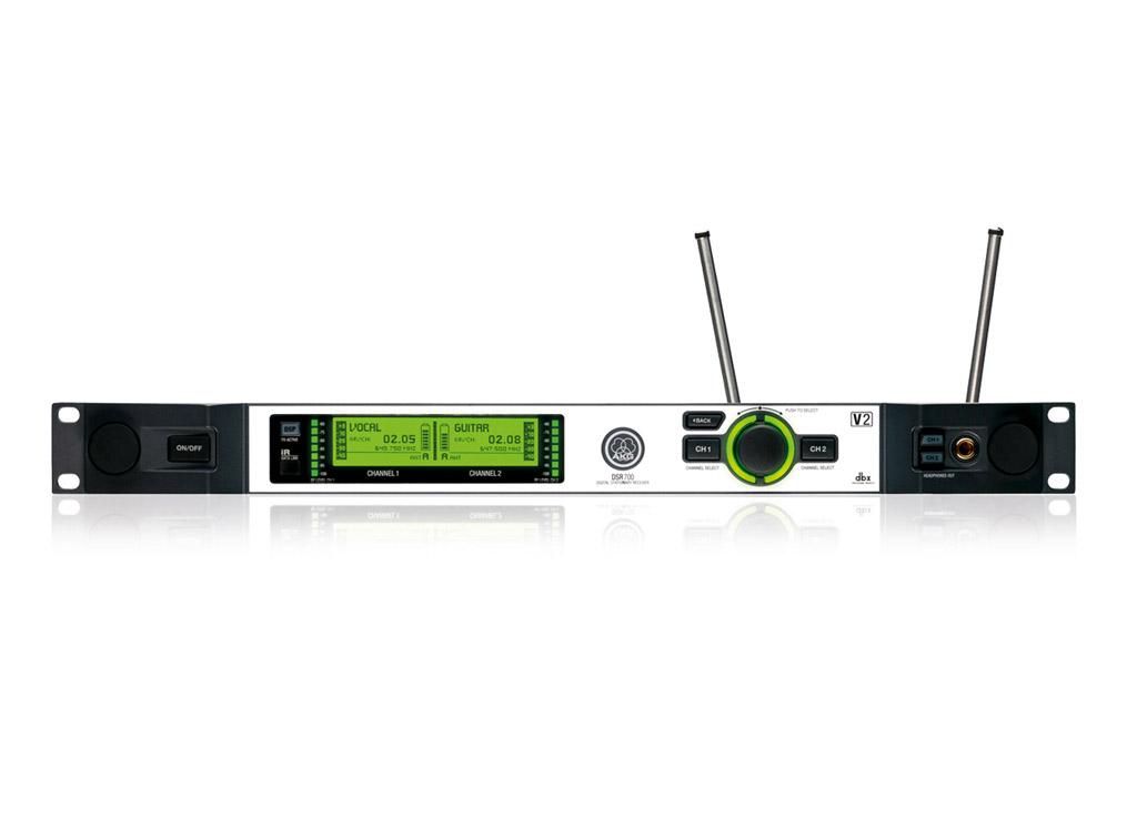 Powieksz do pelnego rozmiaru AKG DSR 700, AKG DSR-700, AKG DSR700, DSR 700 V2, DSR-700 V2, DSR700 V2, DSR 700-V2, DSR-700-V2, DSR700-V2, DSR 700V2, DSR-700V2, DSR700V2, mikrofon bezprzewodowy cyfrowy, zestaw bezprzewodowy cyfrowy, cyfrowy system mikrofonowy bezprzewodowy, odbiornik mikrofonowy, odbiornik systemu bezprzewodowego, odbiornik zestawu bezprzewodowego, odbiornik mikrofonu bezprzewodowego, odbiornik mikrofonowy rackowy, odbiornik rackowy