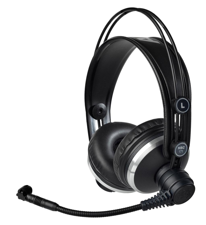 Powieksz do pelnego rozmiaru AKG HSC 171, AKG HSC171, AKG HSC-171, słuchawki hi-fi, słuchawki profesjonalne, słuchawki studyjne, słuchawki realizatorskie, słuchawki z pałąkiem, słuchawki nagłowne, słuchawki nauszne, słuchawki zamknięte, słuchawki multimedialne, słuchawki z mikrofonem, zestaw z mikrofonem, słuchawki z kablem jednostronnym, słuchawki z kablem wymiennym, słuchawki z odłączanym przewodem