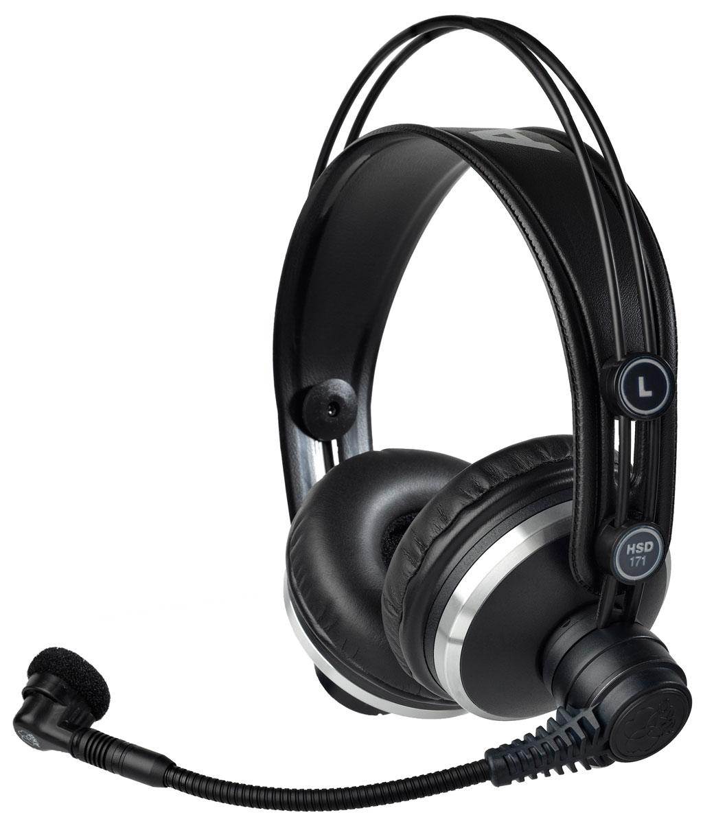 Powieksz do pelnego rozmiaru AKG HSD 171, AKG HSD171, AKG HSD-171, słuchawki hi-fi, słuchawki profesjonalne, słuchawki studyjne, słuchawki realizatorskie, słuchawki z pałąkiem, słuchawki nagłowne, słuchawki nauszne, słuchawki zamknięte, słuchawki multimedialne, słuchawki z mikrofonem, zestaw z mikrofonem, słuchawki z kablem jednostronnym, słuchawki z kablem wymiennym, słuchawki z odłączanym przewodem