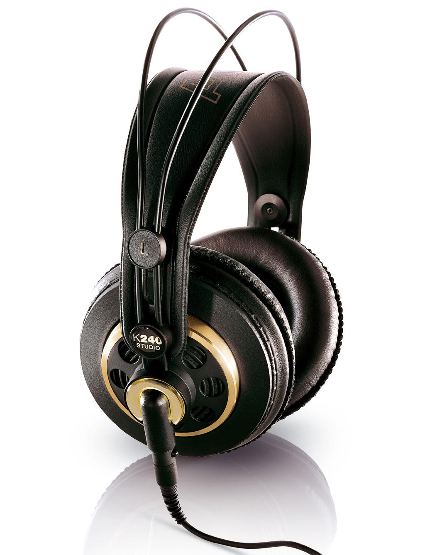 Powieksz do pelnego rozmiaru AKG K 240 Studio, K240Studio, K240 Studio, K 240Studio, K240-Studio, K-240-Studio, K-240 Studio, K-240-Studio, słuchawki hi-fi, słuchawki profesjonalne, słuchawki studyjne, słuchawki realizatorskie, słuchawki z pałąkiem, słuchawki nagłowne, słuchawki nauszne, słuchawki półotwarte, słuchawki z kablem jednostronnym, słuchawki z kablem wymiennym, słuchawki z odłączanym przewodem