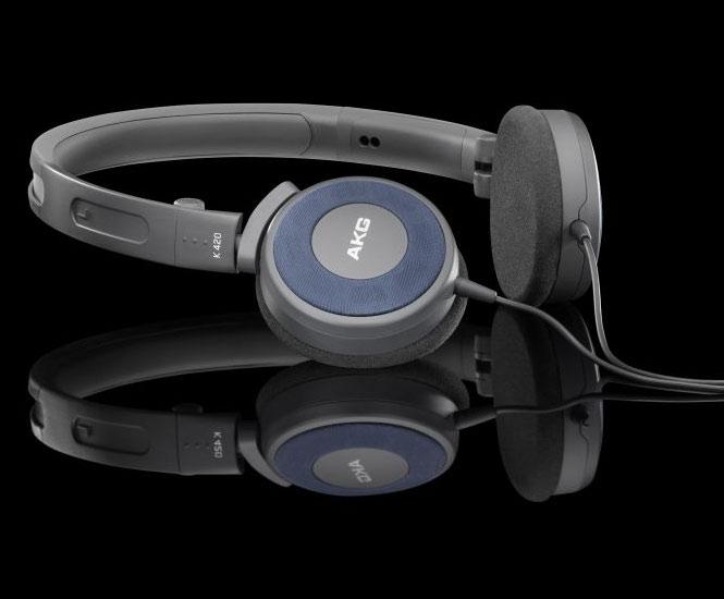 Powieksz do pelnego rozmiaru AKG K 420, AKG K420, AKGK420, AKGK-420, AKG K-420, słuchawki przenośne, słuchawki do iPod, słuchawki do iPad, słuchawki do iPhone,  słuchawki do MP3, słuchawki do odtwarzacza MP3, słuchawki do odtwarzaczy MP3, słuchawki półotwarte, słuchawki z pałąkiem, słuchawki nagłowne, słuchawki nauszne, słuchawki składane, słuchawki podróżne