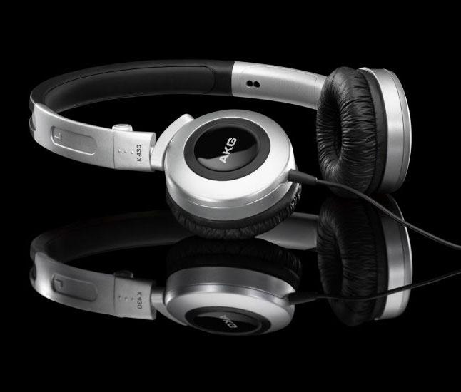 Powieksz do pelnego rozmiaru AKG K 430, AKG K430, AKGK430, AKGK-430, AKG K-430, słuchawki przenośne, słuchawki do iPod, słuchawki do iPad, słuchawki do iPhone,  słuchawki do MP3, słuchawki do odtwarzacza MP3, słuchawki do odtwarzaczy MP3, słuchawki zamknięte, słuchawki z pałąkiem, słuchawki nagłowne, słuchawki nauszne, słuchawki składane, słuchawki podróżne, słuchawki z kablem jednostronnym