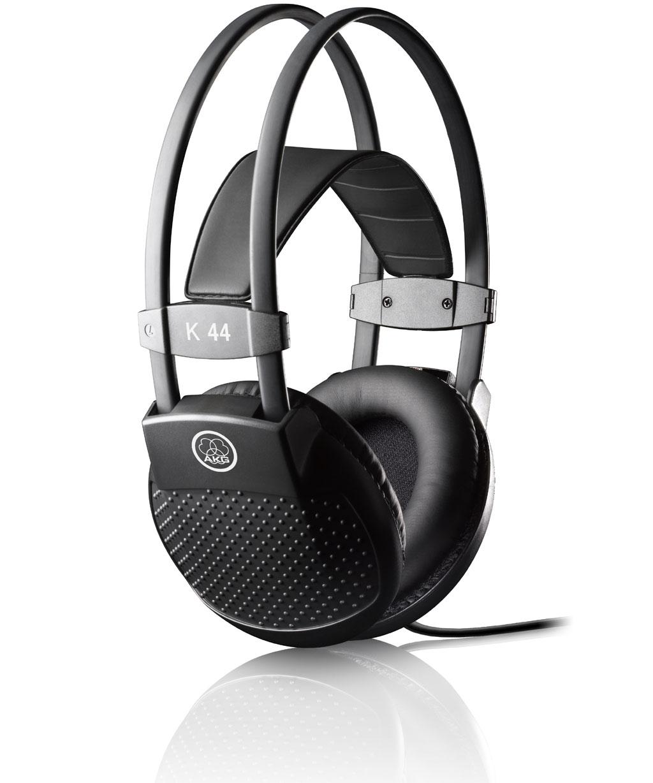 Powieksz do pelnego rozmiaru AKG K 44, AKG K44, AKG K-44, słuchawki profesjonalne, słuchawki studyjne, słuchawki realizatorskie, słuchawki uniwersalne, słuchawki z pałąkiem, słuchawki nagłowne, słuchawki wokółuszne, słuchawki zamknięte, słuchawki z kablem jednostronnym