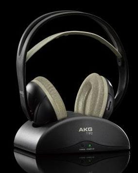 Zdjęcie AKG K 912, AKG K912, AKG K-912, słuchawki domowe, słuchawki z pałąkiem, słuchawki nagłowne, słuchawki wokółuszne, słuchawki półotwarte, Słuchawki bezprzewodowe radiowe, słuchawki radiowe, słuchawki bezprzewodowe analogowe, słuchawki analogowe