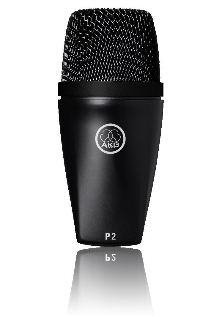 Powieksz do pelnego rozmiaru AKG P 2, P2, P-2, mikrofon na statyw, mikrofon przewodowy, mikrofon dynamiczny, mikrofon kardioidalny, mikrofon instrumentalny, mikrofon estradowy, mikrofon perkusyjny, mikrofon do perkusji, mikrofon do instrumentów dętych, mikrofon basowy, mikrofon do basu, mikrofon do gitary basowej