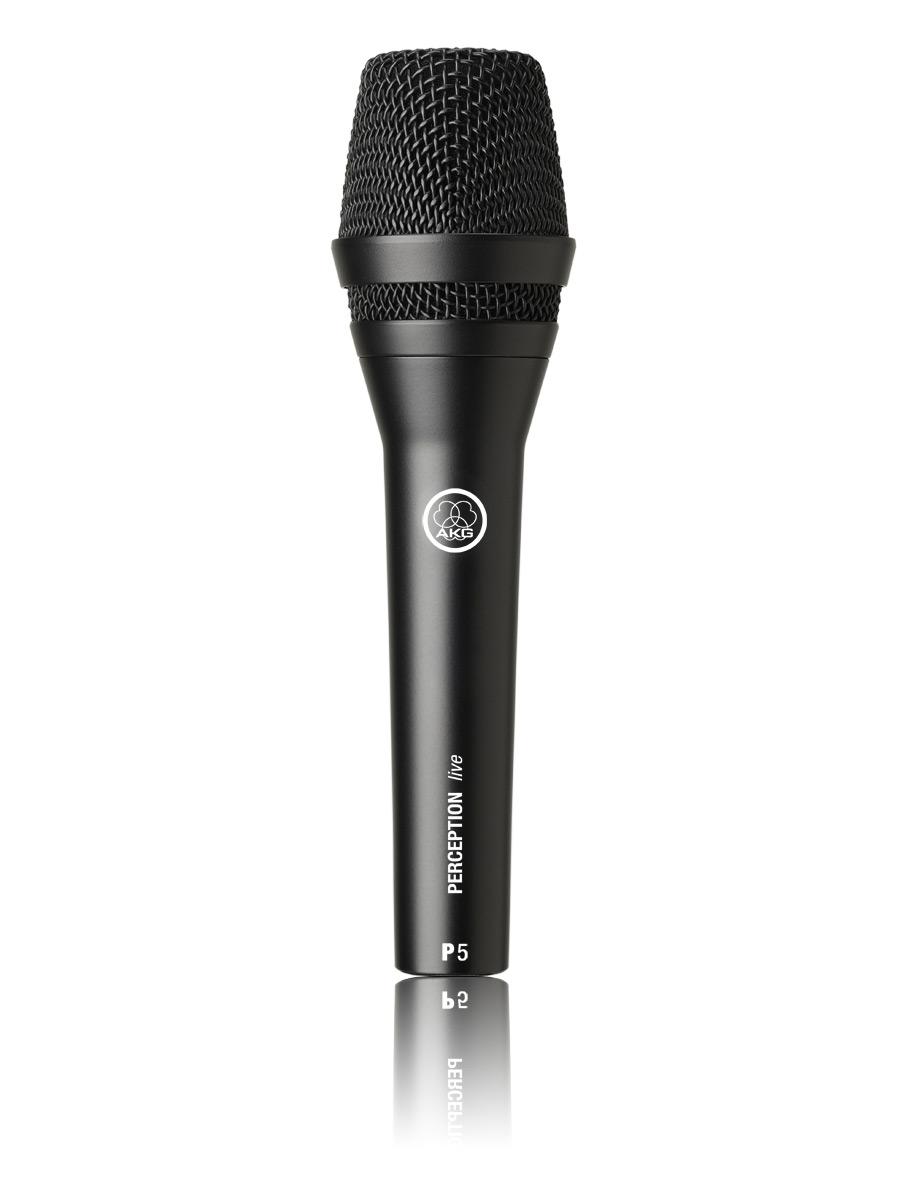 Powieksz do pelnego rozmiaru AKG P 5, P-5, P5, mikrofon ręczny, mikrofon przewodowy, mikrofon dynamiczny, mikrofon kardioidalny, mikrofon wokalowy, mikrofon estradowy,