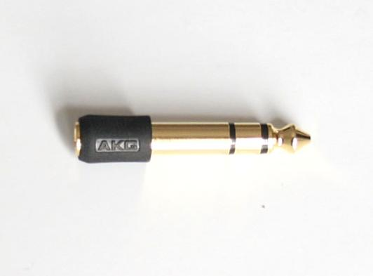 Zdjęcie przejściówka, adapter, 6,3mm - 3,5 mm 3126Z55010