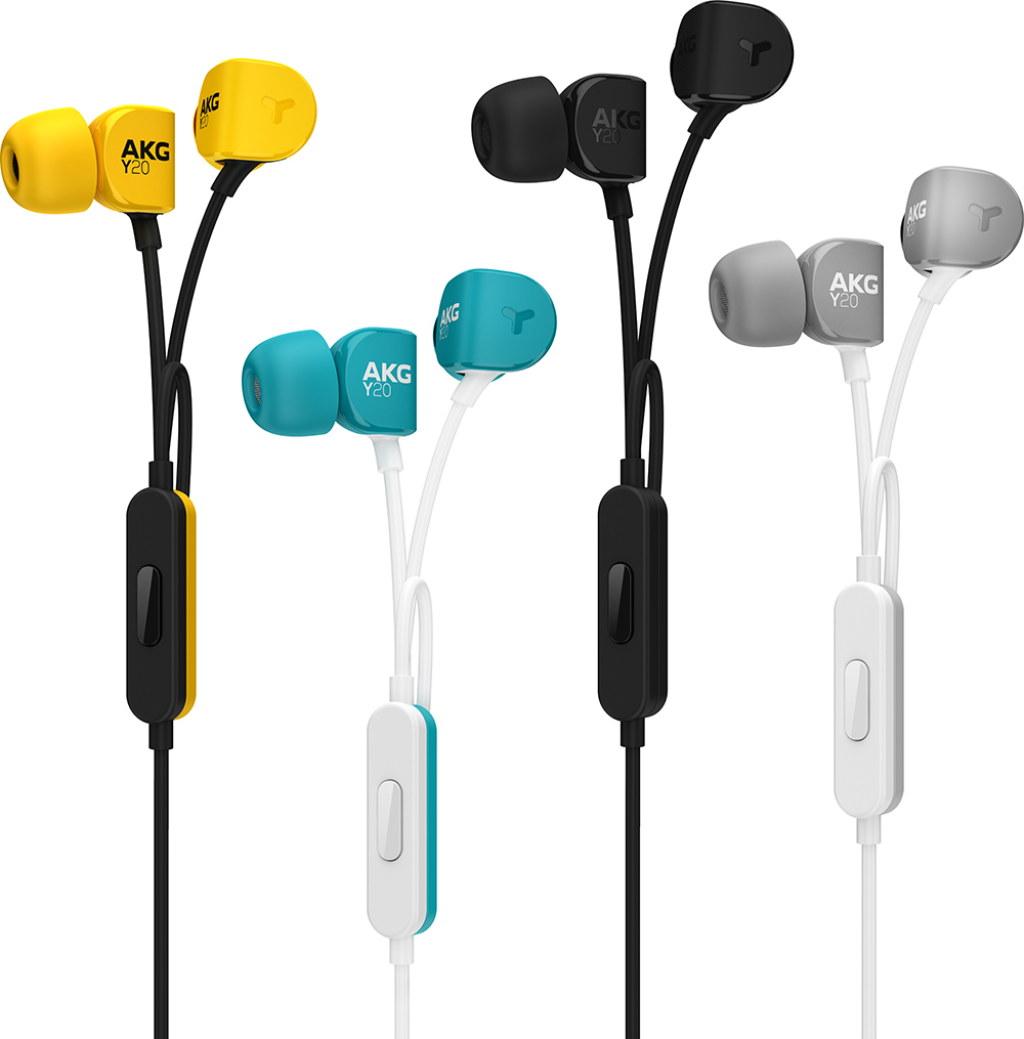 Powieksz do pelnego rozmiaru Y-20U Y-20-U Y20U słuchawki dokanałowe